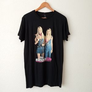 NWOT The Simple Life Graphic T Shirt